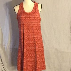 Columbia tank dress with built in bra.
